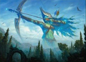 Nyléa, déesse de la Chasse