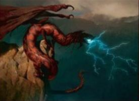 Dragon au souffle de tempête