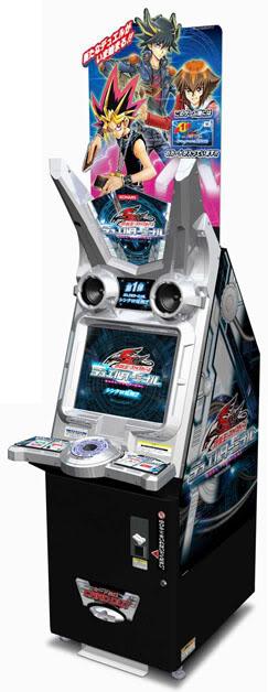 yugioh arcade machine